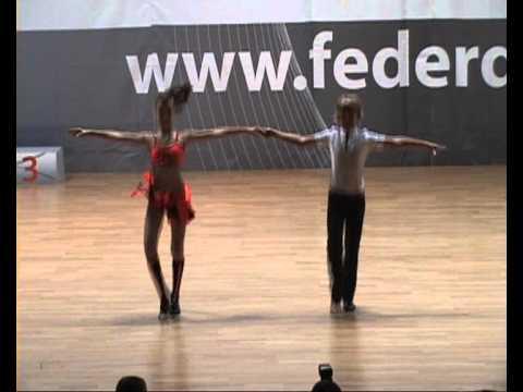 Kerstin Gunesch & Mathias Neuner - World Cup Rimini 2011