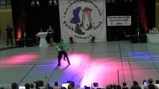Selina Pietzko & Max Leidemer - Nordbayerische Meisterschaft 2014