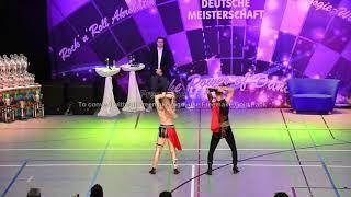 Franziska Schmidt & Jan Wimmer - Deutsche Meisterschaft 2019