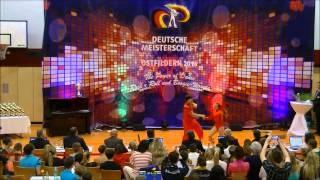Christina Bischoff-Moos & Lukas Moos - Deutsche Meisterschaft 2014