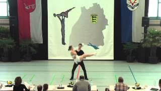 Isabelle Vaudlet & Tobias Knop - Ländle Cup 2015