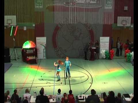 Charlotte Siwek & Felizian Fingerhut - Landesmeisterschaft NRW 2013
