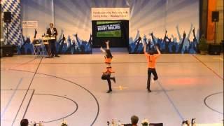 Sofia Rieger & Benedikt Reiter - Nordbayerische Meisterschaft 2015