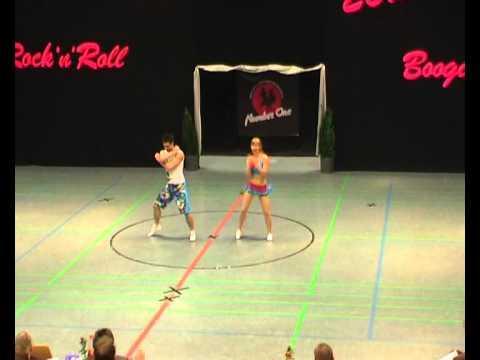 Kim Geiger & Patrick Strauß - Landesmeisterschaft NRW 2012