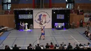 Christina Menzer & Alexander Michael - Landesmeisterschaft Bayern 2017