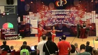 Jasmin Hapfelmeier & Maximilian Draszczyk - Norddeutsche Meisterschaft 2014