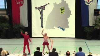 Natalia Schwarz & Dominik Schwarz - LM Baden-Württemberg & Hessen 2015
