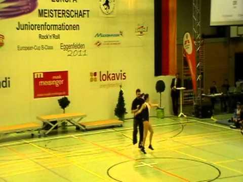 Krisztina Sárfy & Gergely Farkas - European B-Cup Eggenfelden 2011