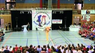 Christina Bischoff-Moos & Lukas Moos - Nordbayerische Meisterschaft 2014