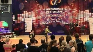 Anna-Lena Rekofsky & Kevin Geyer - Norddeutsche Meisterschaft 2014
