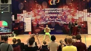 Nadine Kalb & Alexander Kapsalis - Norddeutsche Meisterschaft 2014
