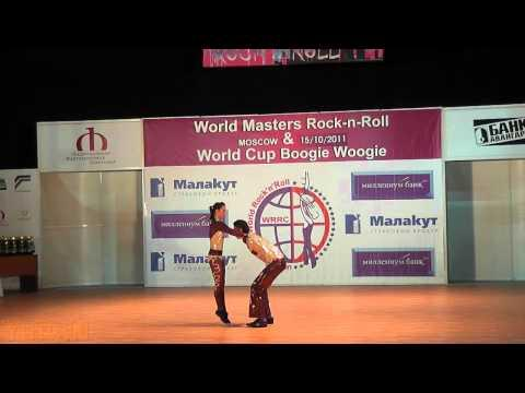 Alzbeta Slamova & Lukas First - World Masters Moskau 2011