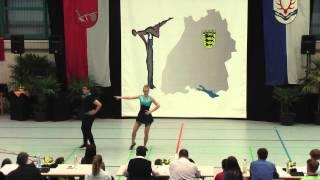 Alina Tuchscherer & Tom Stelzenmüller - LM Baden-Württemberg & Hessen 2015