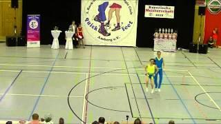 Lisa Haslbeck & Dominik Stubenvoll - Landesmeisterschaft Bayern 2015
