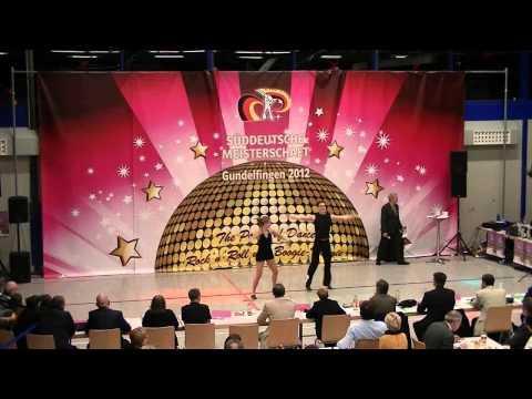 Julia Butterweck & Philipp Wolf - Süddeutsche Meisterschaft 2012