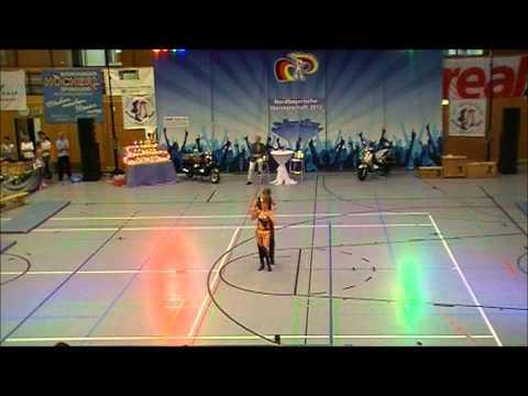 Nina Stahl & Phillipp Bauer - Nordbayerische Meisterschaft 2012