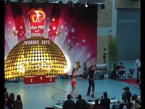 Sabrina Walgenbach & Moritz Schneider - Großer Preis von Deutschland 2013