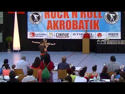 Madeleine Egger & Mischel Menzinger - Oberbayerische Meisterschaft 2013