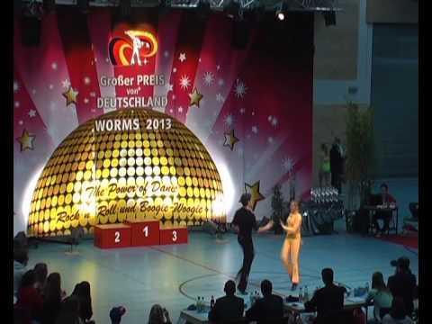 Michelle Uhl & Kris-Marcel Fischer - Großer Preis von Deutschland 2013