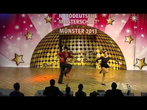 Carolin Steinberger & Tobias Planer - Norddeutsche Meisterschaft 2013