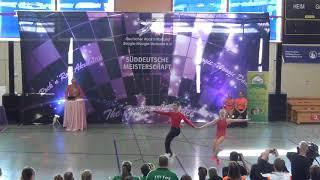 Franziska Peßler & Tobias Öttl - Süddeutsche Meisterschaft 2019