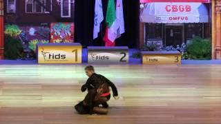 Daria Matinyan & Daniil Tanakbaey - Europameisterschaft 2015