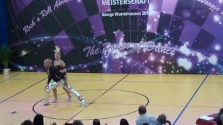 Jeanette Uhl & Mario Bludau - Deutsche Meisterschaft 2016