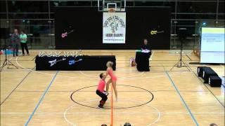 Nicole Kalb & Alexander Kapsalis - Donaupokal 2014